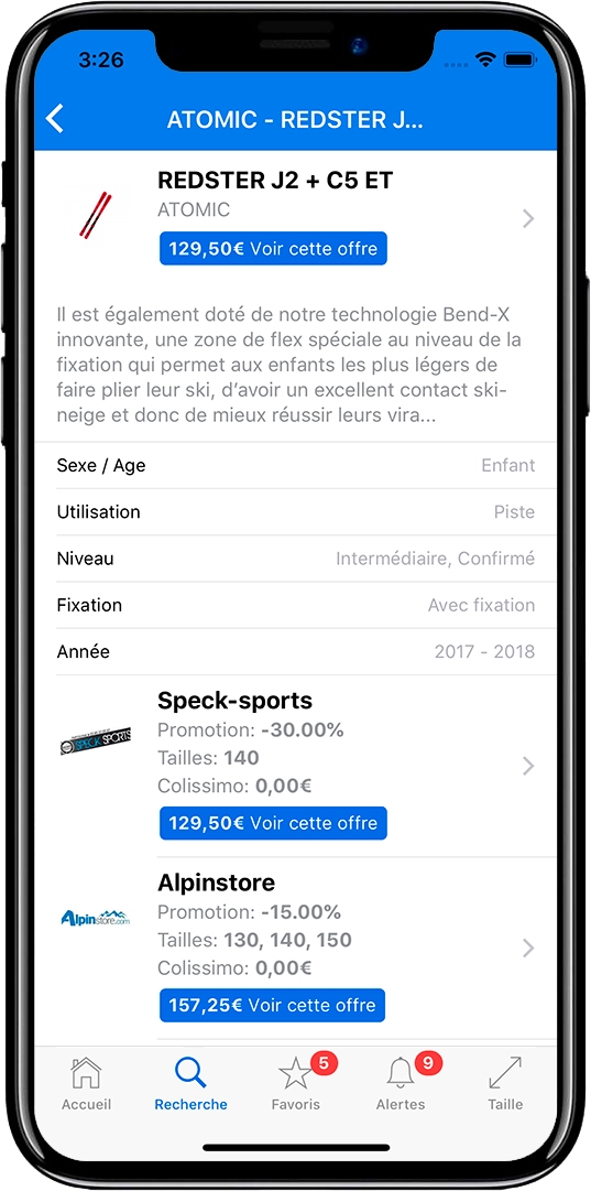 Application mobile iOS Android Pontarlier